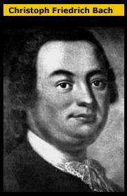 Bach  Christoph Friedrich